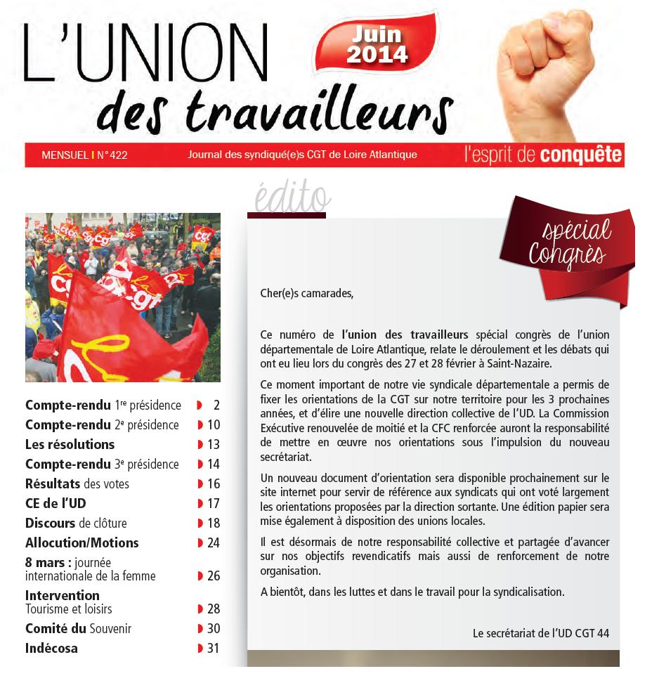 La cgt de loire atlantique 44 - Union des syndicats de l immobilier ...